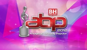Shaheizy Sam Bintang Paling Popular ABPBH 2012