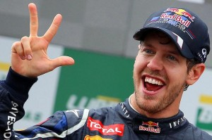 sebastian vettel juara f1 gp bahrain