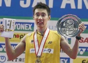 Datuk Lee Chong Wei Juara Terbuka Jepun