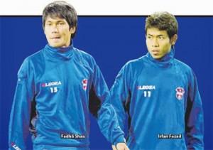 Mohd Fadhli Shaas dan Mohd Irfan Fazail Milik Johor Darul Takzim