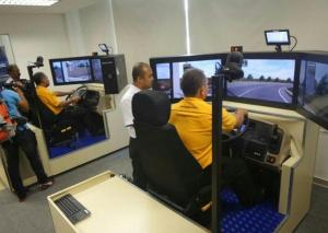 Simulator Bas Pertama Rapid Bus di Malaysia