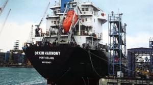 Kapal Tangki MT Orkim Harmony Dijumpai di Perairan Kemboja