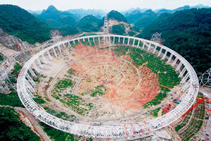 Negara China Bina Teleskop Terbesar di Dunia