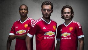 Manchester United Lancar Jersi Baharu Musim 2015/2016 Jenama Adidas