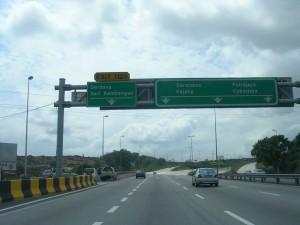 Tol Percuma Lebuh Raya Damansara Puchong 31 Ogos 2015