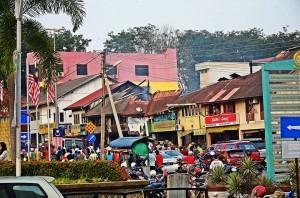 Rumah Kedai Tertua di Kuala Nerang Kedah Terbakar