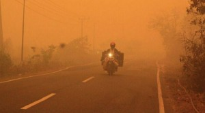 Indeks Pencemaran Udara Palangkaraya Indonesia Cecah 3000