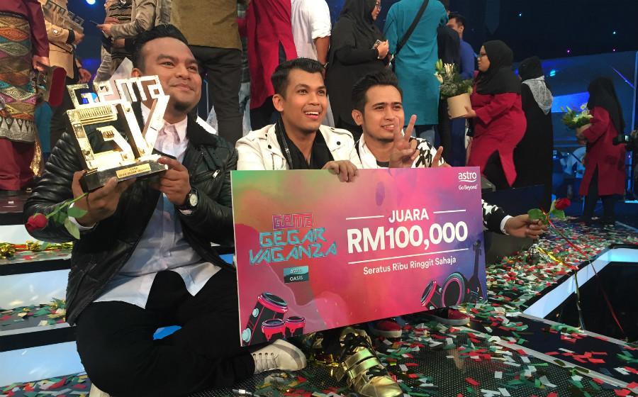 Kumpulan Nasyid Unic Juara Gema Gegar Vaganza Musim Pertama 2017
