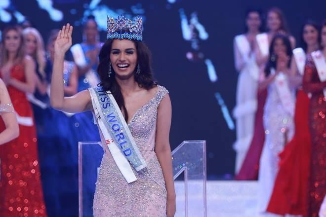 Manushi Chhillar Pelajar Perubatan India Miss World 2017