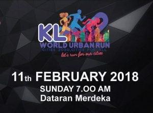 Lebih 10000 Peserta Sertai KL World Urban Run 2018