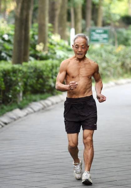 Datuk Sado di China Berumur 72 Tahun Masih Cergas Bersenam