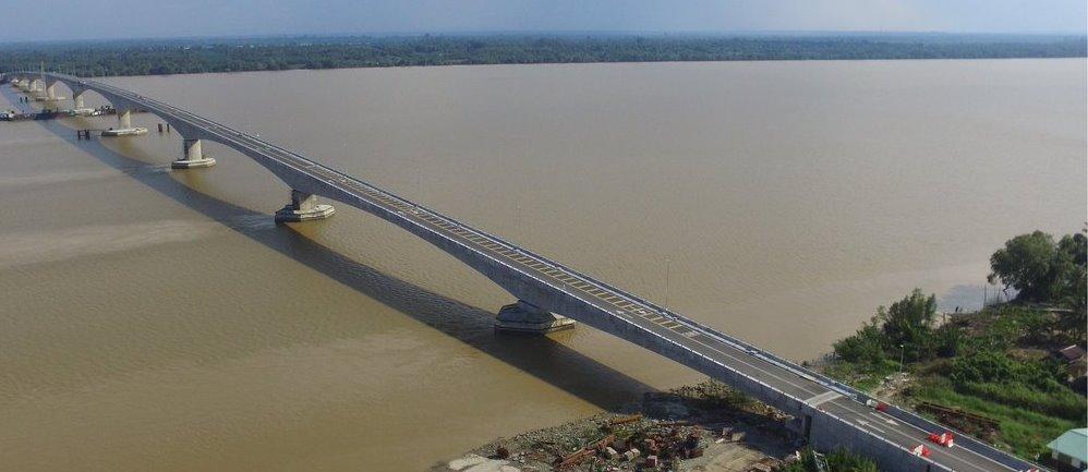 Jambatan Batang Sadong Pembangunan Baharu di Sarawak Dirasmikan
