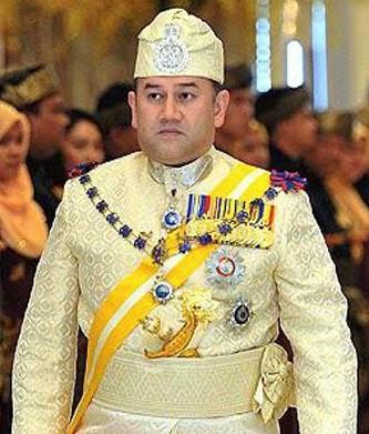 Sultan Kelantan Sultan Muhammad V Yang di-Pertuan Agong ke 15